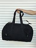 Большая дорожная сумка, черная (60 л.), фото 4