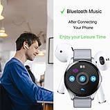 Смарт розумні годинник Smart Watch ZX-02 жіночі з датчиком пульсу і тиску сенсорні наручний годинник фітнес-трекер, фото 4
