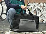 Дорожня сумка чорна, фото 2