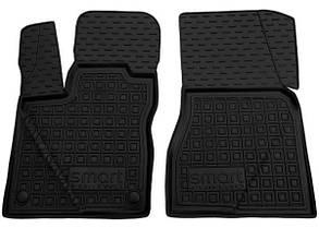 Авто килимки в салон Smart Fortwo 453 2014+/Смарт Форту 453