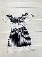 Трикотажне плаття для дівчаток. 4 - 8 років.