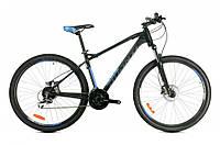 "Велосипед AVANTI CANYON 29"" рама 19"" черный/синий AV000224"