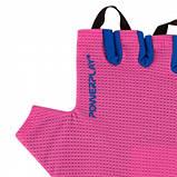 Фітнес рукавички PowerPlay 3418 Розові M SKL24-144439, фото 3