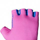 Фітнес рукавички PowerPlay 3418 Розові M SKL24-144439, фото 8