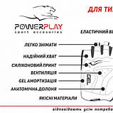 Велорукавички PowerPlay 5031 G Чорно-Жовті M SKL24-144588, фото 5