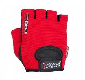 Перчатки для фитнеса и тяжелой атлетики Power System Pro Grip Red XS PS-2250 SKL24-238289