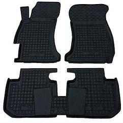 Полиуретановые (автогум) коврики в салон Subaru XV 2012+/ Субару КСВ