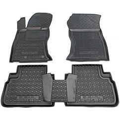 Авто килимки в салон Subaru Forester 5 2019+/Субару Форестер