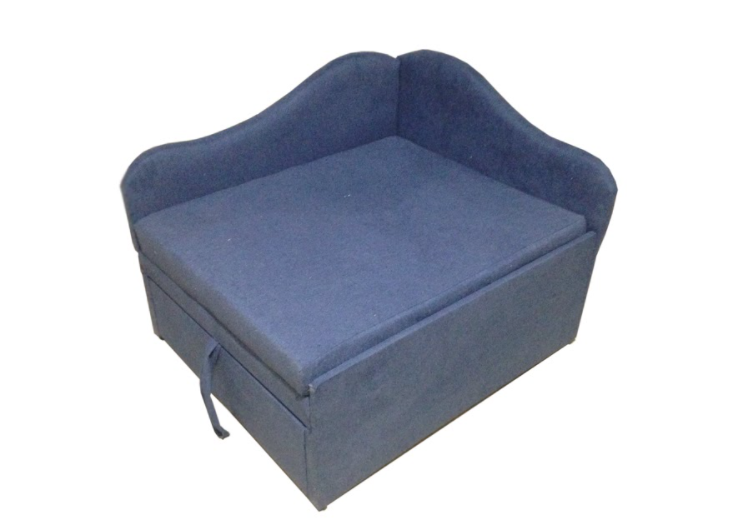 Дитячі розкладні крісла ліжко для дитини, дитячі міні дивани дешево підлітковий Малюк Синій