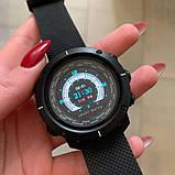 Смарт часы умные мужские  BOZLUN Smart watch W30 фитнесс трекер, черные, фото 3