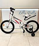 Двухколесный велосипед Corso R на 20 дюймов Бело-розовый, фото 2