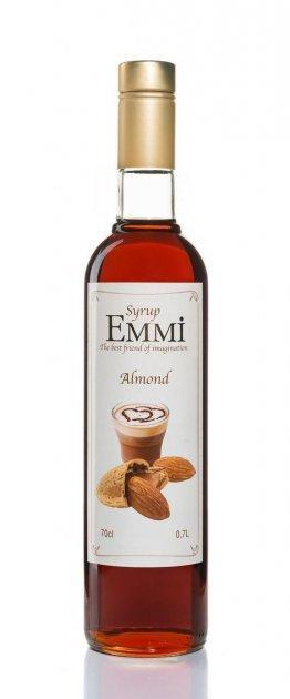 Сироп Эмми (Емми) Миндаль 700 мл (900 грамм) (Syrup Emmi Almond 0.7)