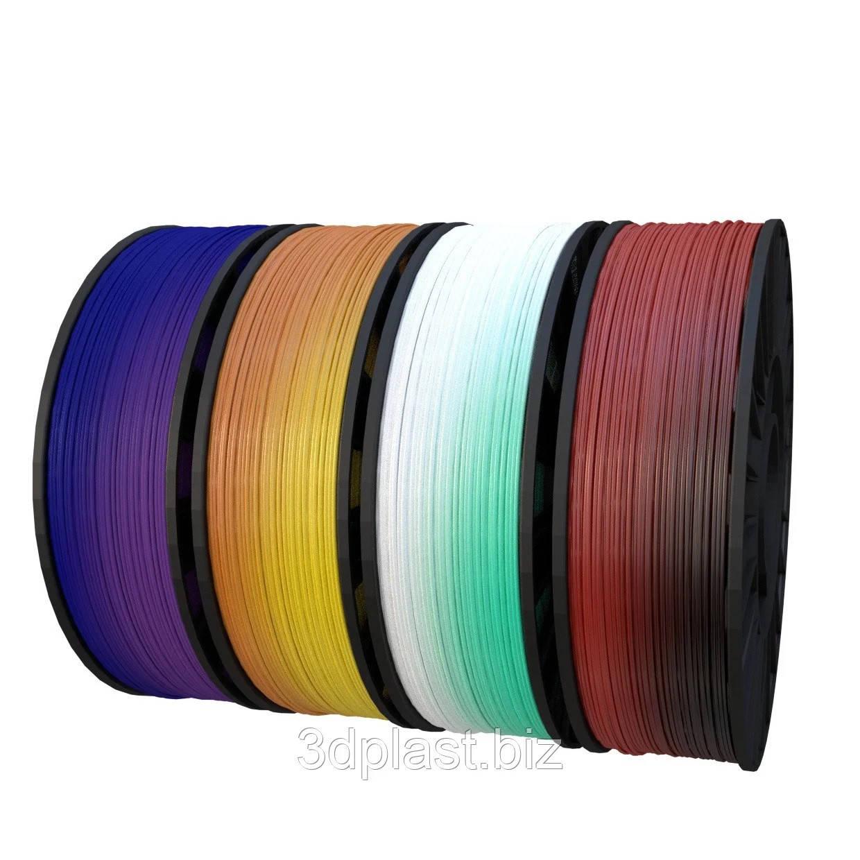 PLA пластик 3Dplast для 3D принтера 2.85 мм случайный цвет