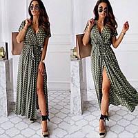 Платье летнее в горошок 45922