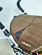 Прогулочная коляска-трость CARRELLO Allegro Monster Gold, фото 6