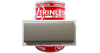 Металлический эффект 2K Акриловый VERINLEGNO (цвет ACRIMETAL ROBOT ARGENTO 3178 E ) ,тара 1л