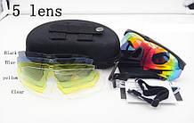 Тактичні окуляри ESS Crossbow зі змінними лінзами 5