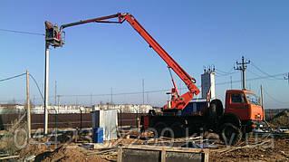 Аренда автовышки от 18 до 28 метров в Киеве