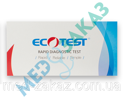 Тест для визначення поверхневого антигену гепатиту В (HBsAg) №25 HBsAg-W23 ECOTEST