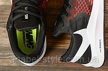 Кросівки чоловічі 17077, Nike Zoom Winflo 6, чорні, [ 41 42 43 44 45 ] р. 41-26,5 див., фото 3