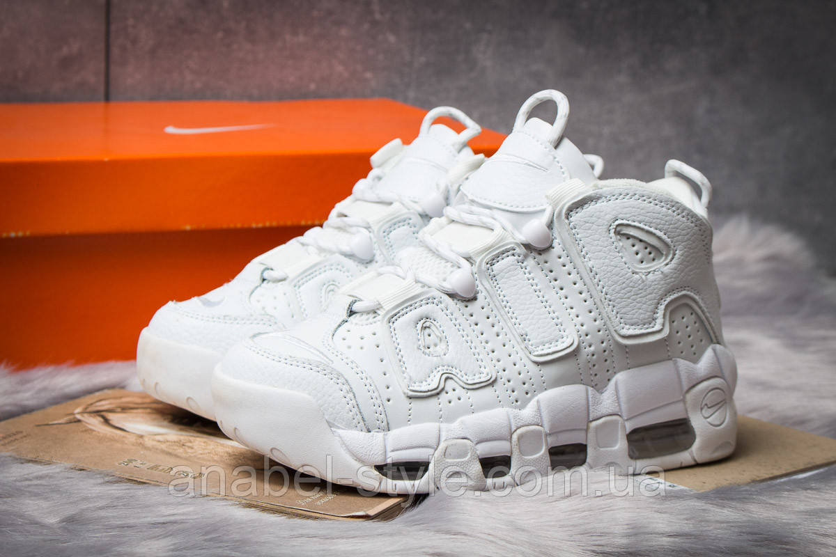 Кроссовки женские 14774, Nike Air Uptempo, белые [ 39 ] р.(39-25,4см)