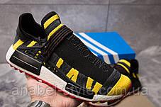 Кросівки чоловічі 14923, Adidas Pharrell Williams, чорні, [ 42 45 ] р. 42-27,0 див., фото 2