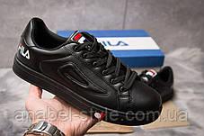 Кросівки чоловічі 14941, Fila, чорні, [ немає ] р. 43-27,5 див., фото 2