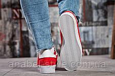Кроссовки женские 15461, Adidas Topanga, красные [ 37 ] р.(37-23,5см), фото 3