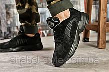 Кросівки чоловічі 15516, Adidas Yung 1, чорні, [ 42 ] р. 42-26,5 див., фото 2
