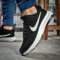 Кроссовки женские 16001, Nike Zoom Pegasus, черные [ 37 38 ] р.(37-23,7см), фото 2