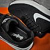 Кроссовки женские 16001, Nike Zoom Pegasus, черные [ 37 38 ] р.(37-23,7см), фото 4