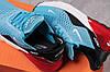 Кросівки жіночі 16053, Nike Air 270, блакитні, [ 36 37 ] р. 36-23,0 див., фото 4