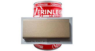Металлический эффект 2K Акриловый VERINLEGNO (цвет ACRIMETAL ROBOT BRONZO LLE04436 ) ,тара 1л