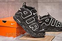 Кроссовки женские 15242, Nike Air Uptempo, черные [ 41 ] р.(41-26,4см), фото 3