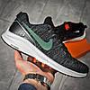 Кросівки чоловічі 15981, Nike Zoom Air, темно-сірі, [ 43 ] р. 43-26,5 див., фото 3