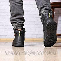 Зимние мужские ботинки 31881, Gorgeous (на меху, в коробке), черные [ 42 43 45 ] р.(42-27,5см), фото 2