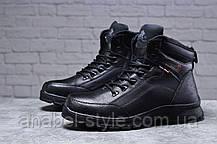 Зимние мужские ботинки 31881, Gorgeous (на меху, в коробке), черные [ 42 43 45 ] р.(42-27,5см), фото 3