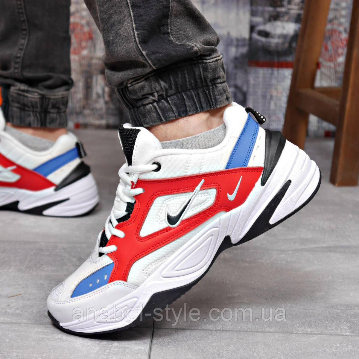 Кросівки чоловічі 18204, Nike M2K Tekno, білі, [ 44 45 ] р. 44-28,5 див.