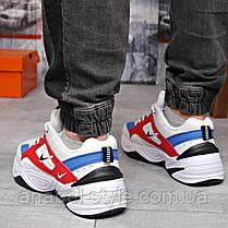 Кросівки чоловічі 18204, Nike M2K Tekno, білі, [ 44 45 ] р. 44-28,5 див., фото 2