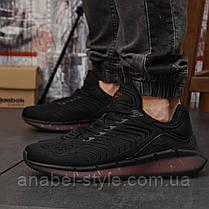 Кросівки чоловічі 18323, Reebok Zig Kinetica (TOP AAA), чорні,, фото 2