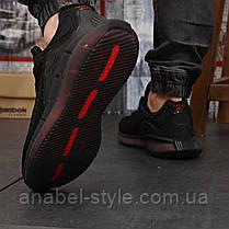 Кросівки чоловічі 18323, Reebok Zig Kinetica (TOP AAA), чорні,, фото 3