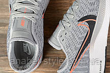 Кроссовки мужские 16972, Nike Pegasus Turbo 2, серые [ 44 ] р.(44-28,3см), фото 3