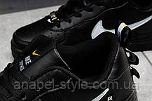 Кросівки жіночі 16693, Nike Air Force 1, чорні, [ 37 ] р. 37-23,0 див., фото 3