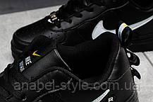 Кроссовки женские 16693, Nike Air Force 1, черные [ 37 ] р.(37-23,0см), фото 3