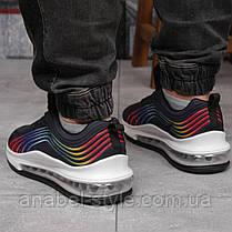 Кросівки чоловічі 17251, Air Max, чорні, [ 44 45 46 ] р. 45-29,5 див., фото 3