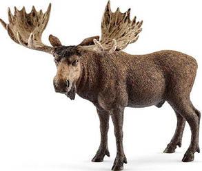 Schleich 14781 фигурка  Лось Wild life Moose Bull