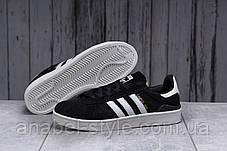Кросівки чоловічі 17802, Adidas Campus Adv, чорні, [ 43 44 45 ] р. 43-27,7 див. 45, фото 3