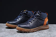 Зимові чоловічі кросівки 31382, Timbershoes Sensorflex (на хутрі), темно-сині, [ 43 ] р. 43-28,5 див., фото 2