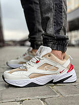Кроссовки мужские 18206, Nike M2K Tekno, бежевые, [ 41 42 43 44 45 ] р. 43-27,8см., фото 3