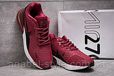 Кросівки чоловічі 13972, Nike Air 270, бордові, [ ] р. 43-27,5 див., фото 3